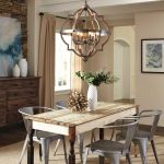 20 Best Farmhouse Dining Room Lighting Decor Ideas and Remodel (12)