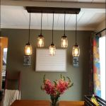 20 Best Farmhouse Dining Room Lighting Decor Ideas And Remodel (19)