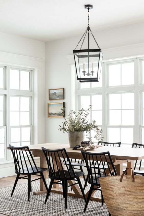 20 Best Farmhouse Dining Room Lighting Decor Ideas And Remodel (2)