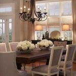 20 Best Farmhouse Dining Room Lighting Decor Ideas And Remodel (4)