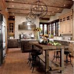 20 Best Farmhouse Kitchen Lighting Decor Ideas and Remodel (12)