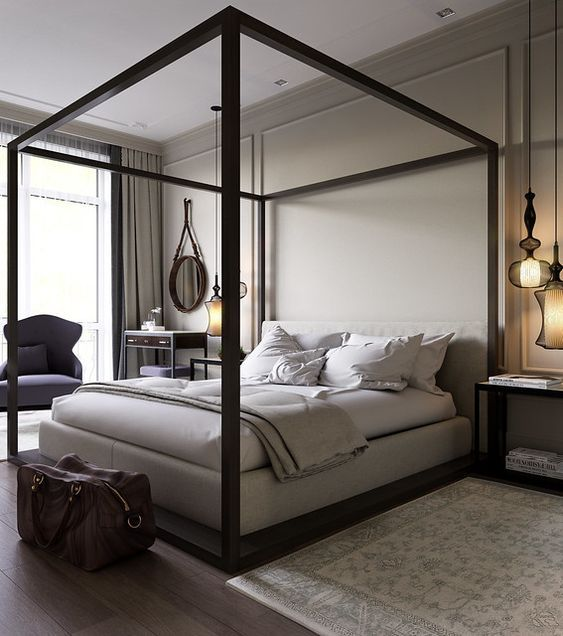 20 Best Industrial Farmhouse Bedroom Decor Ideas and Remodel (11)