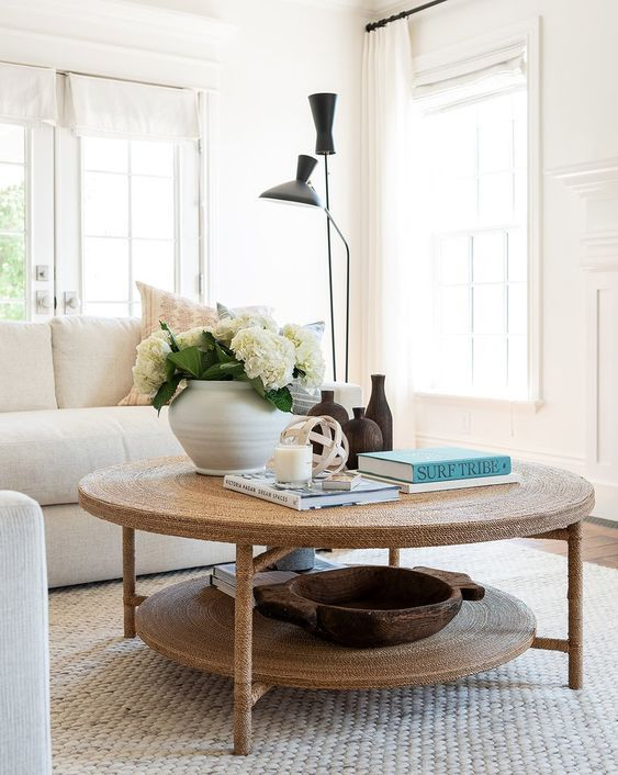 20 Stunning Farmhouse Coffee Table Decor Ideas and Remodel (16)