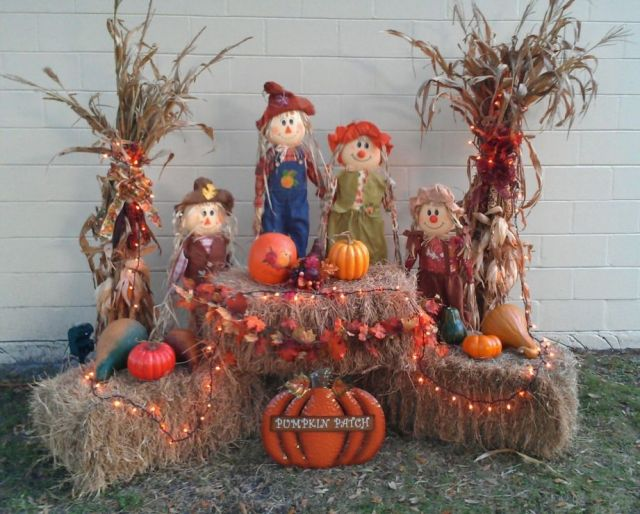 Nice diy fall decorations for outside