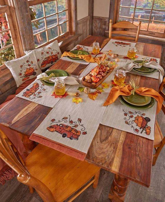 Amazing fall dining table decorations
