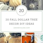 Awesome Diy Fall Decor Dollar Tree