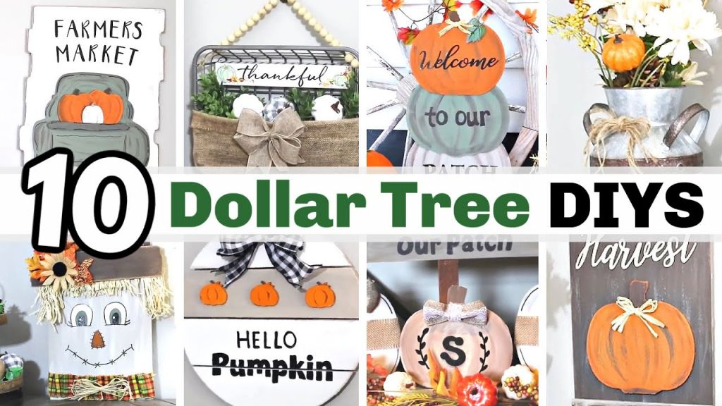 Beautiful Diy Fall Decor Dollar Tree