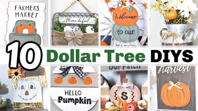 Gorgeous diy fall decor dollar tree