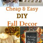 Beautiful Fall Decorating On A Budget