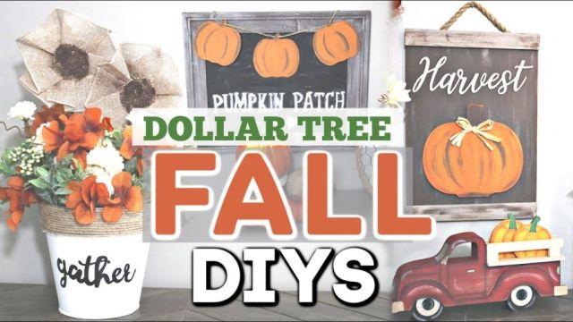 Fantastic diy fall decor dollar tree