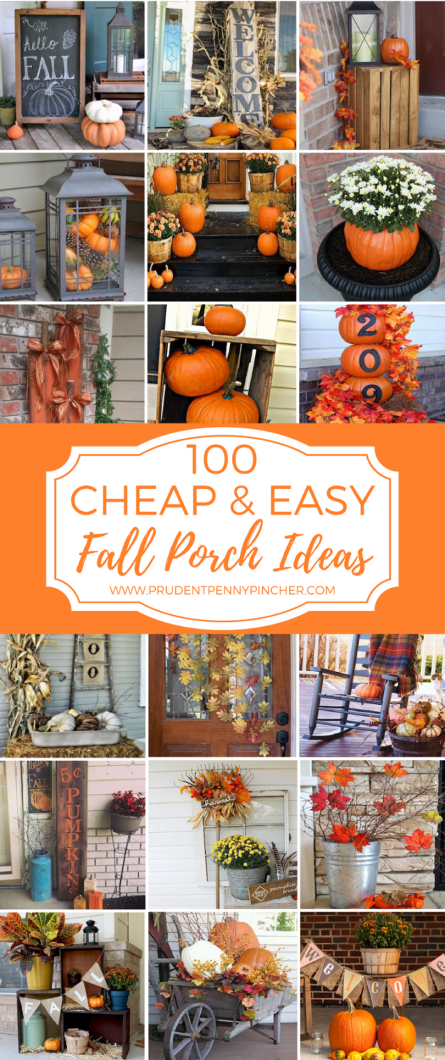 Best fall decorating on a budget