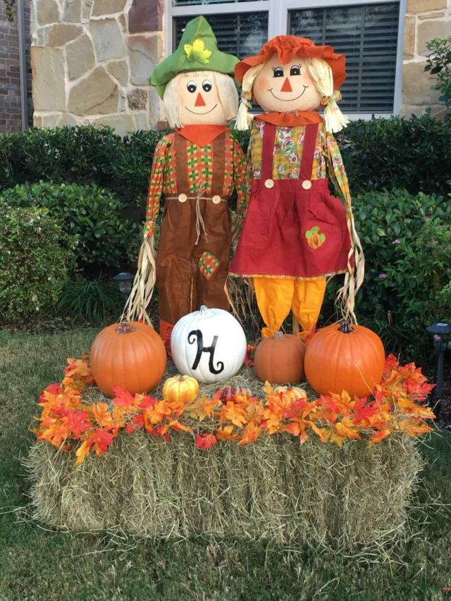 Beautiful diy fall decorations for outside