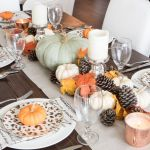Wonderful Fall Dining Table Decorations