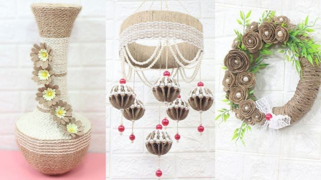 Wonderful handmade decoration ideas for home
