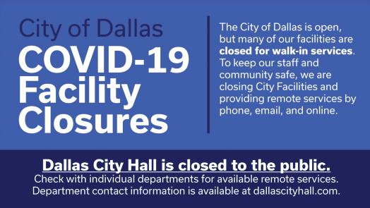 City of Dallas COVID-19 Update: March 28 1