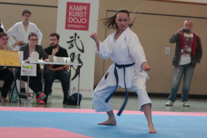 Karate Turnier Detmold Kinder und Jugendliche 2015