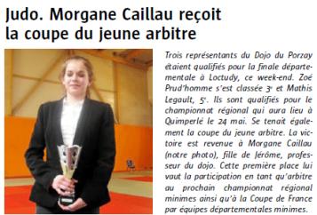 J 14 Mai 2015 Coupe du jeune arbitre Morgane