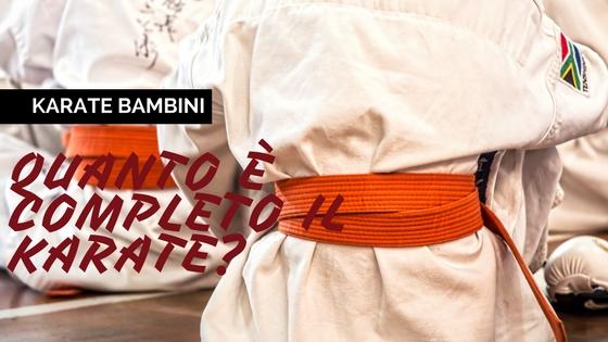 Come ho reso il karate lo sport ideale per i bambini con una semplice cambiamento