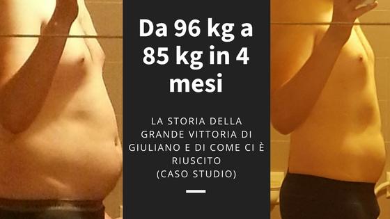 Ecco come passare da 96 kg a 85 kg in 4 mesi, nonostante seri problemi alla Tiroide