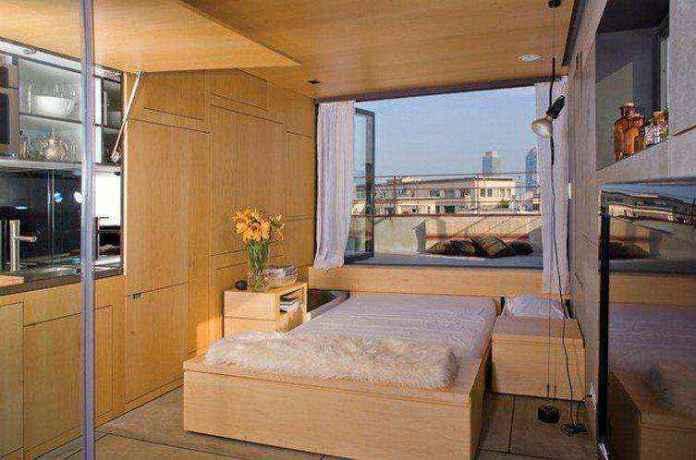 Place-of-my-own | Он превратил 25-метровую квартиру в жилье мечты! Что можно сделать, если руки из того места растут!