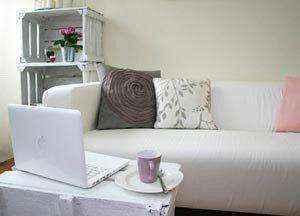 mebel-iz-kartona-024 | Нет денег на новую мебель? Не беда! Её можно сделать из…