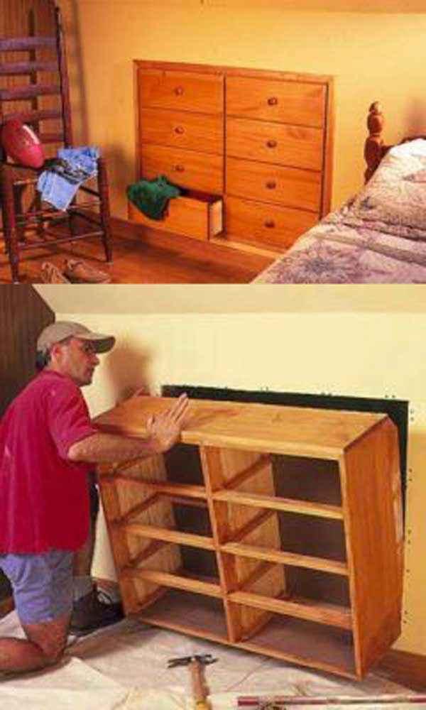 image15-7   Как экономить пространство в малогабаритных квартирах: 23 идеи хранения вещей