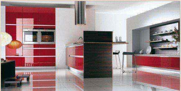 image16-16 | Красные кухни в интерьере