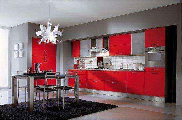 image2-47 | Красные кухни в интерьере