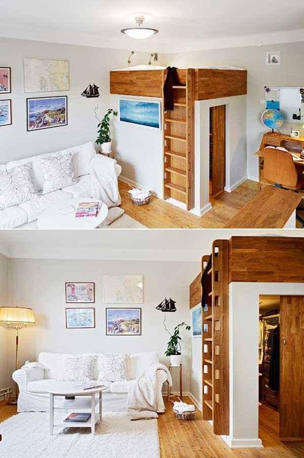 image23-3   Как экономить пространство в малогабаритных квартирах: 23 идеи хранения вещей