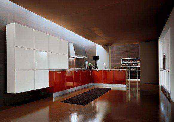 image5-43 | Красные кухни в интерьере