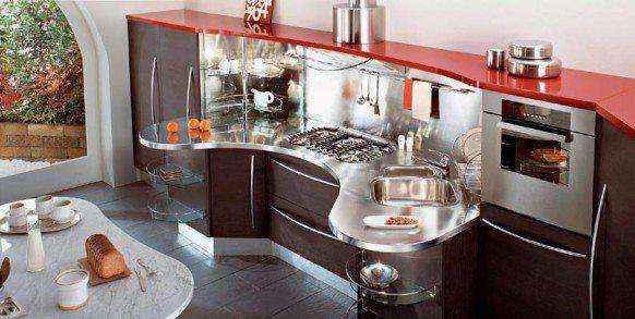 image6-40 | Красные кухни в интерьере