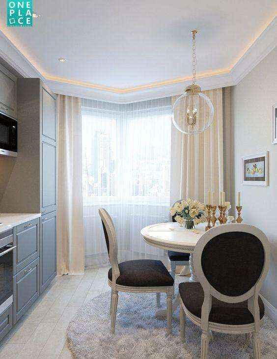 image27-2   Потрясающие идеи для маленькой уютной кухни
