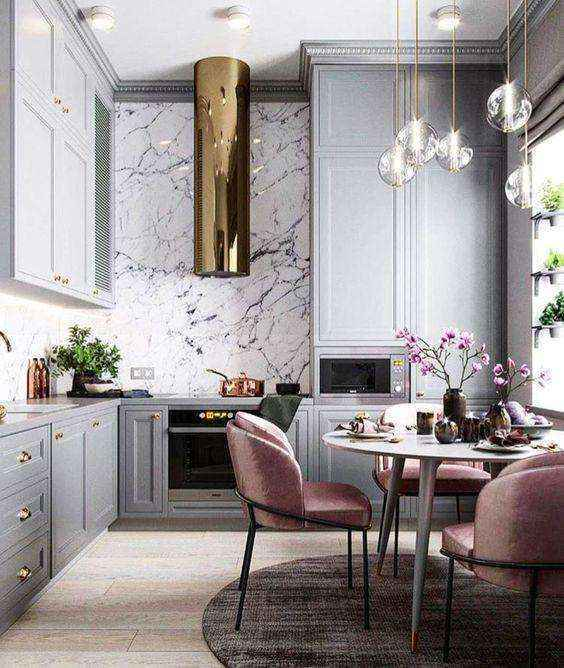 image28-1   Потрясающие идеи для маленькой уютной кухни