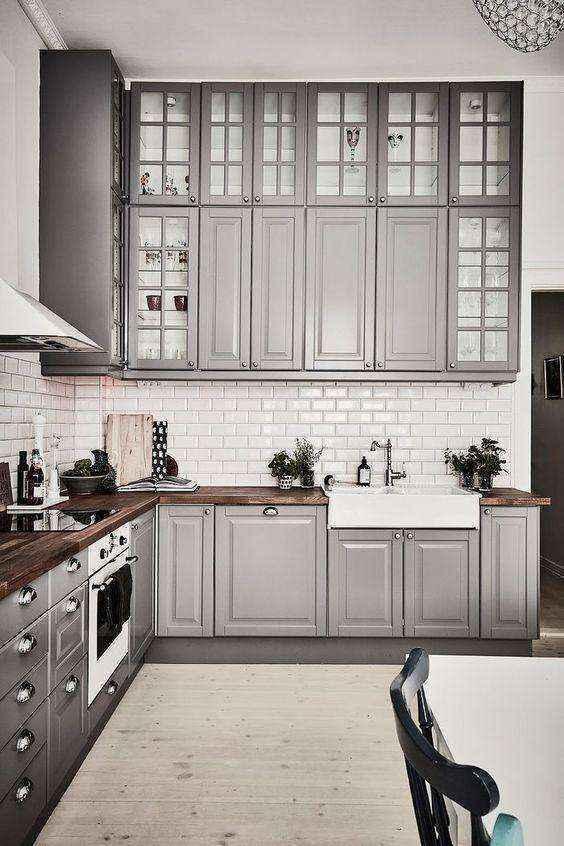 image29-2   Потрясающие идеи для маленькой уютной кухни