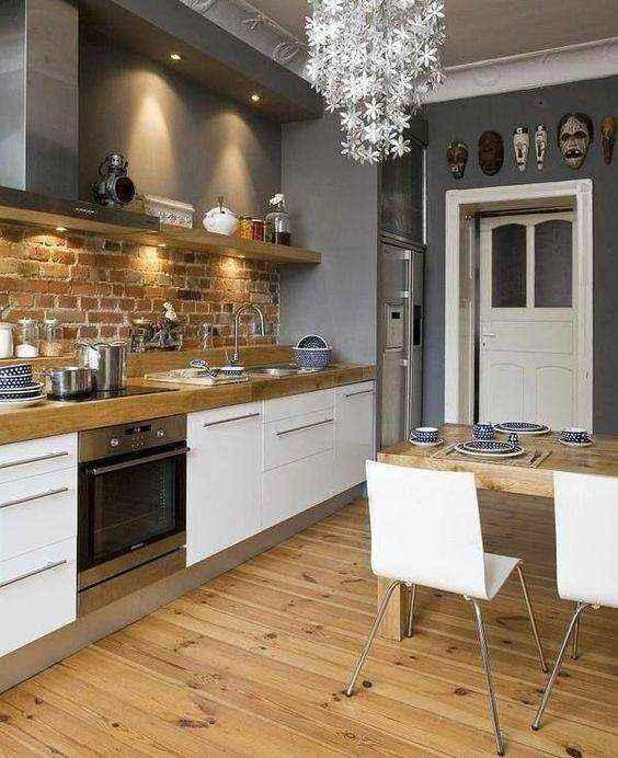 image31-1   Потрясающие идеи для маленькой уютной кухни