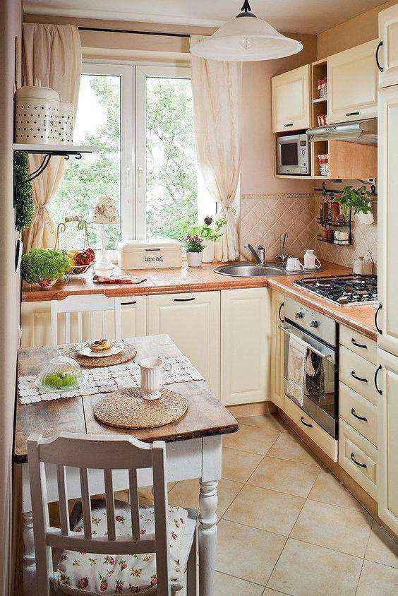 image32-1   Потрясающие идеи для маленькой уютной кухни