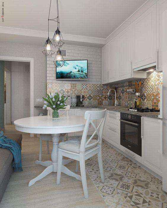 image35   Потрясающие идеи для маленькой уютной кухни