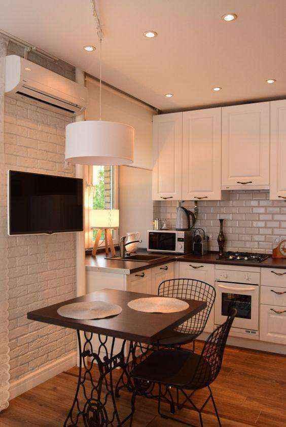image37   Потрясающие идеи для маленькой уютной кухни