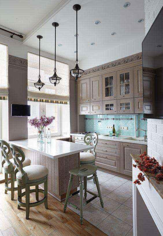 image7-6   Потрясающие идеи для маленькой уютной кухни