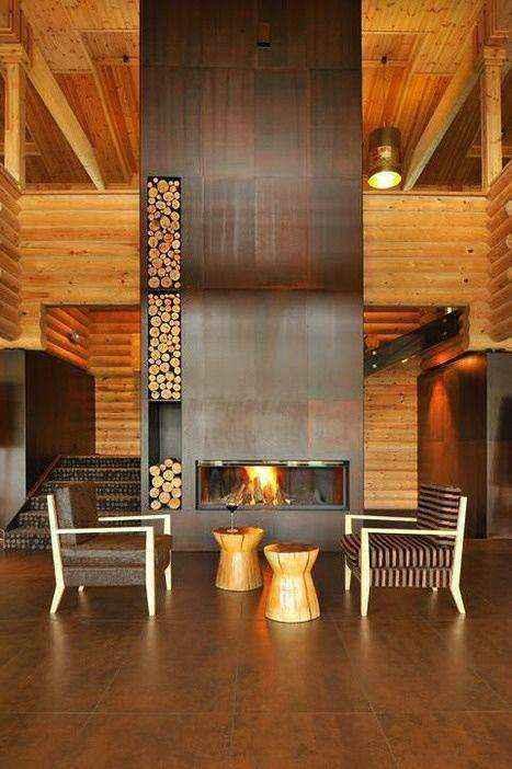 0-wood-burning-fireplace-in-living-room-interior | Дровяные камины: обзор материалов и лучших идей (Часть вторая)