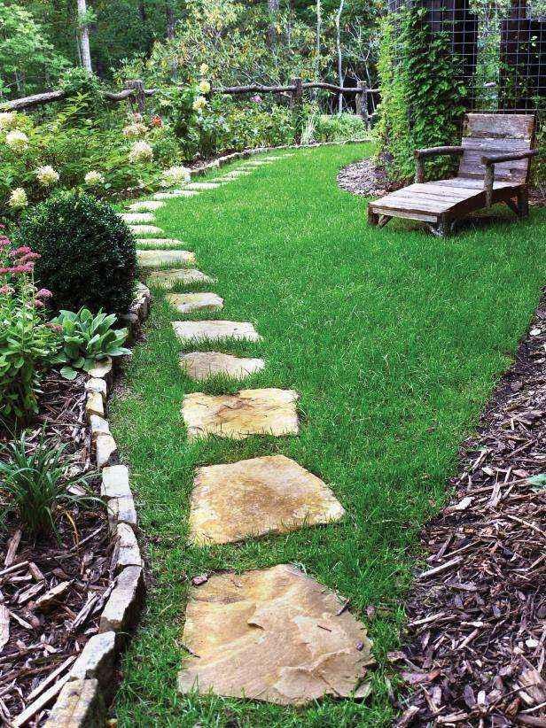 1400953507651 | 20 потрясающих идей дизайна садовых дорожек