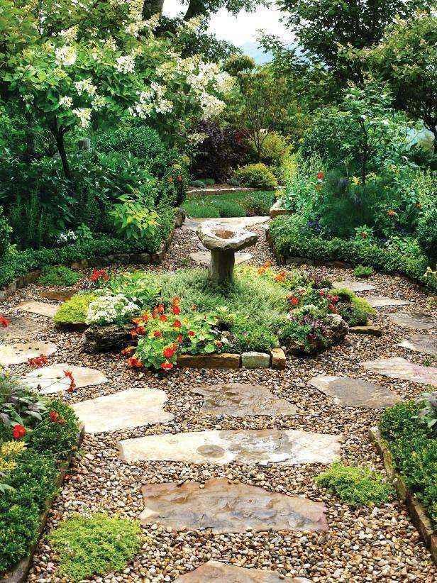 1400978232456 | 20 потрясающих идей дизайна садовых дорожек