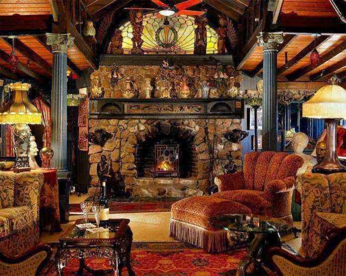 2-2-wood-burning-fireplace-in-living-room-interior | Дровяные камины: обзор материалов и лучших идей (Часть вторая)