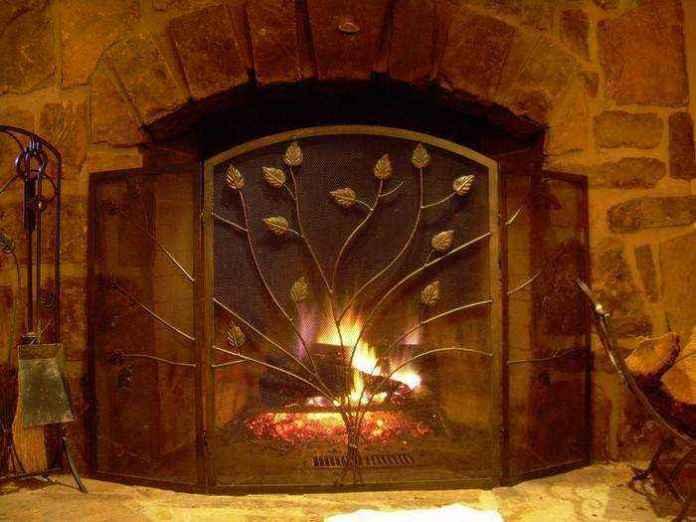 2-4-wood-burning-fireplace-in-living-room-interior | Дровяные камины: обзор материалов и лучших идей (Часть вторая)