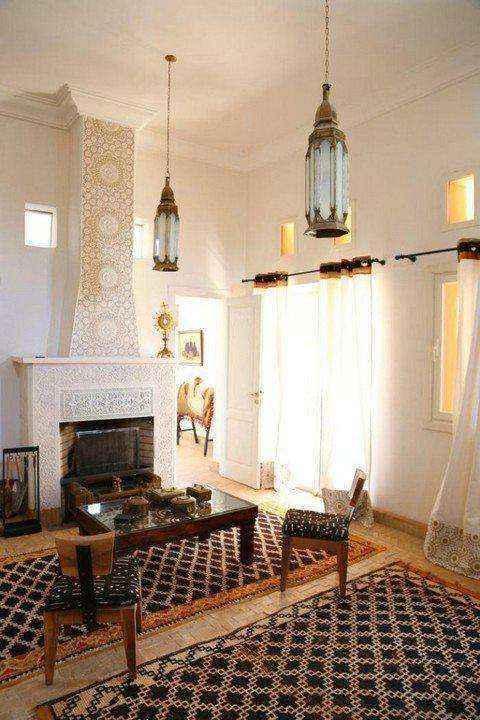 3-8-wood-burning-fireplace-in-living-room-interior | Дровяные камины: обзор материалов и лучших идей (Часть вторая)