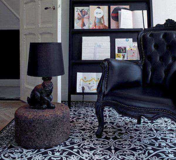 black-rabbit-designer-animal-table-lamps-600x544 | Необычное рядом: дизайнерские настольные лампы