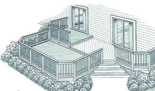 image43 | Лучшие проекты террасы для загородного дома