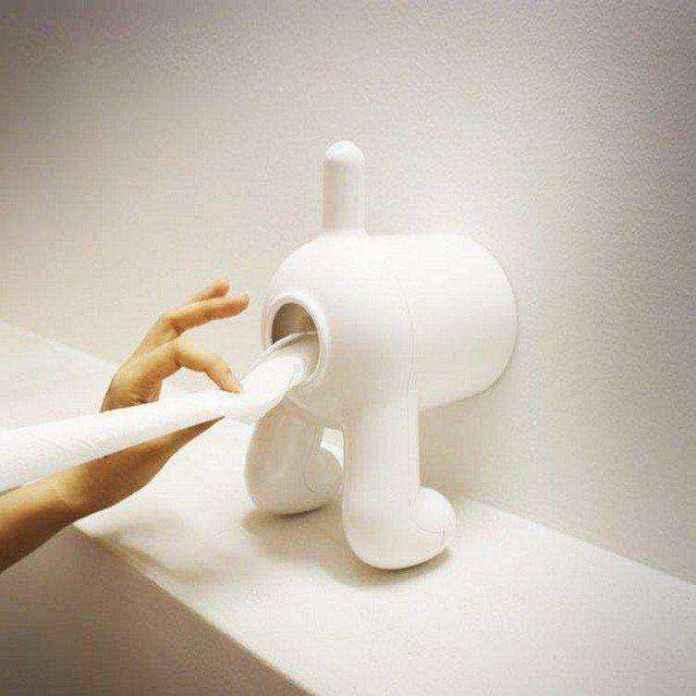 tp-holder-02   Необычное рядом: оригинальные держатели для туалетной бумаги!