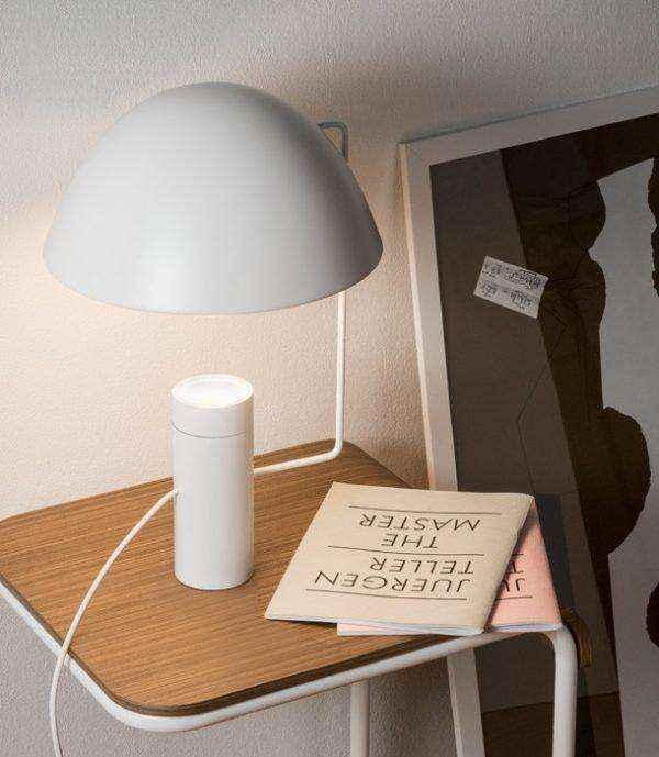 white-innovative-large-designer-table-lamps-600x689 | Необычное рядом: дизайнерские настольные лампы