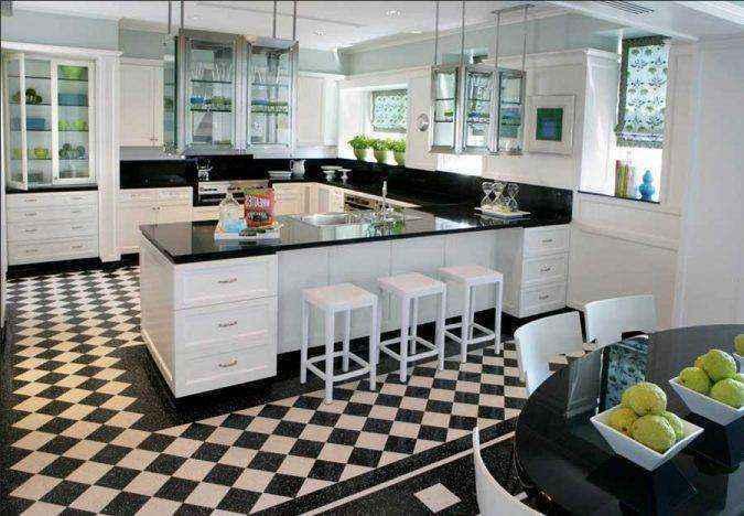 checkered-flooring-675x468 | ТОП-10 инновационных экологичных напольных покрытий для вашего нового дома